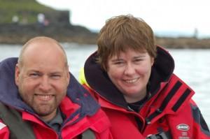 Graham & Anne Ferguson, Duiken met Oceanaddicts in Kinsale