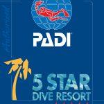 PADI 5 star Resort, scuba diver training, open water, dive ,