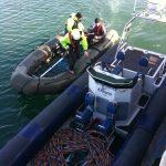 Commercial divers Cork Harbour