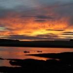 Sunset Oysterhaven Cork