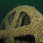 Wreck of Santo outside Cork Harbour