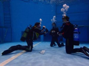 Teaching in the Pool